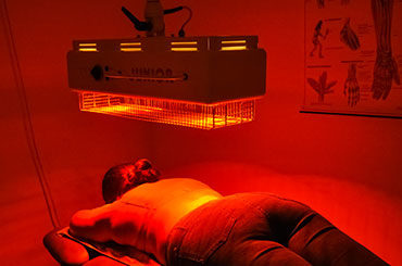 Wärmeanwendung Heißluft